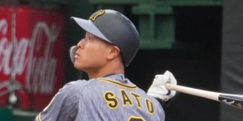 阪神・佐藤輝は「理想の4番すぎんか?」 驚速適時打が「見えん」「シフト意味なし」