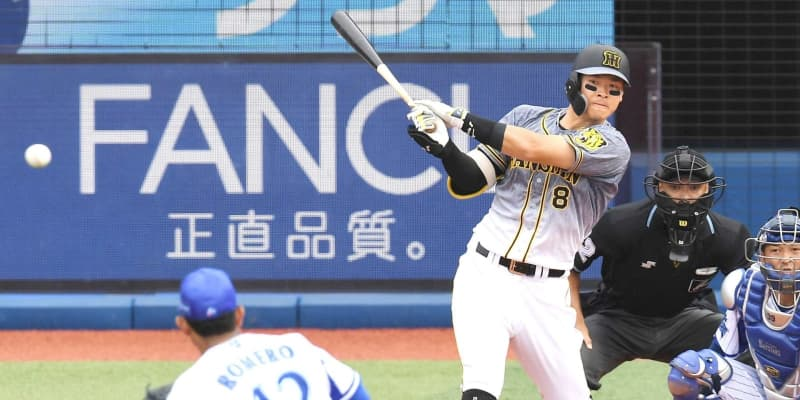 阪神・佐藤輝4番3試合連続打点 シフト破り単独打点トップ「チームも盛り上がる」