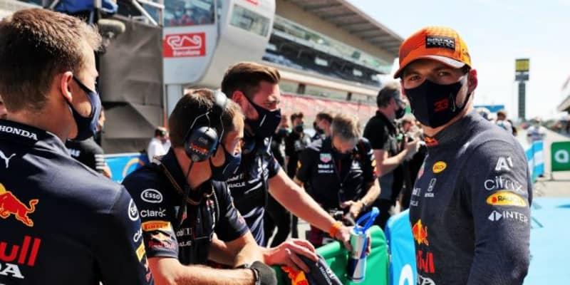 フェルスタッペン0.036秒差の予選2番手「Q1で苦労したが改善。好スタートで前に出たい」レッドブル・ホンダ/F1第4戦