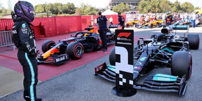 100回目ポールのハミルトン「最初はセットアップを失敗したと思った。初PPのように嬉しい」メルセデス/F1第4戦