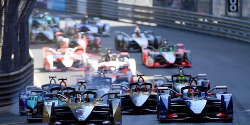 フォーミュラE初のフルコース開催となったモナコE-Prixは、ダ・コスタが最終周に逆転優勝