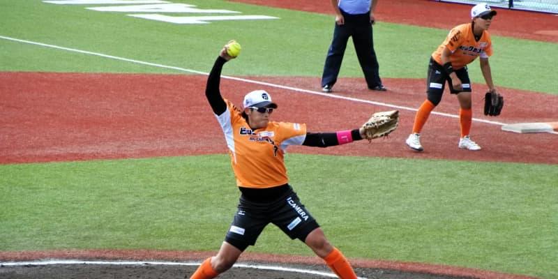 上野由岐子、3連投で今季初勝利「自転車の乗り方を思い出したような」