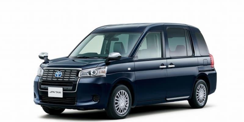 ナノイーXでさらに快適な室内空間、トヨタ ジャパンタクシーが一部改良