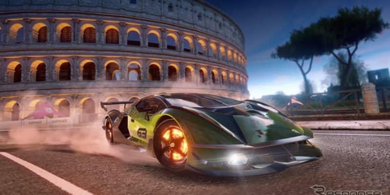 ランボルギーニのサーキット専用車、『エッセンサ SCV12』…ゲーム「アスファルト」最新作に起用