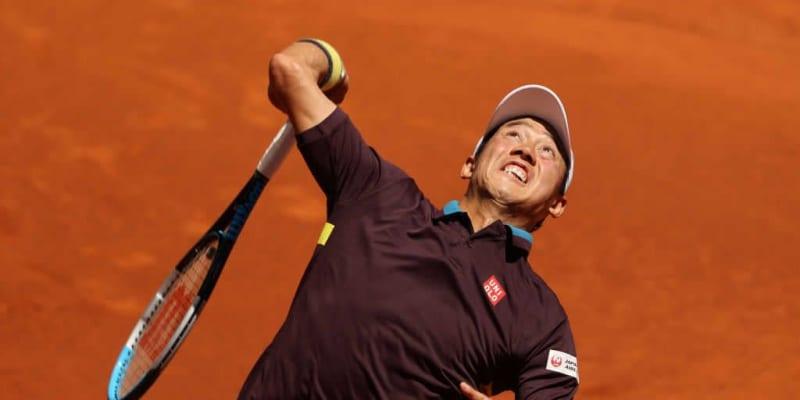 【速報】錦織 世界28位フォニーニに快勝で2回戦進出。相手はイラ立ちラケット破壊も[ATP1000 ローマ]