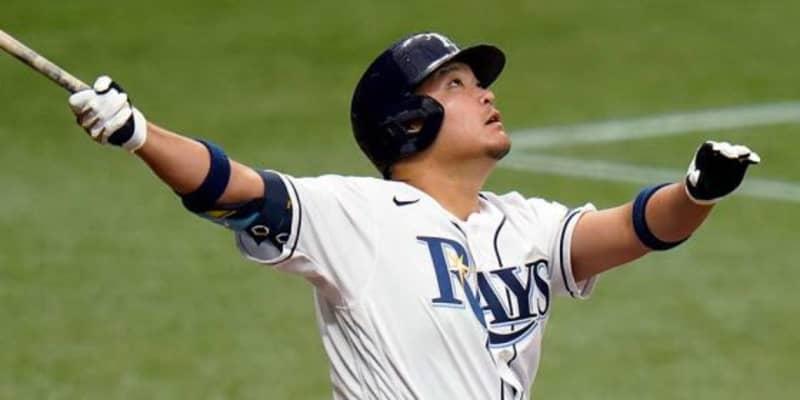【MLB】筒香嘉智は「レイズを出ていく時か」 地元紙がNPB復帰の可能性も指摘