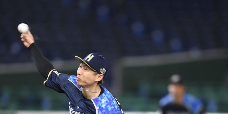 日本ハム・金子 今季最短4回途中6失点でKO 看板直撃を含む2被弾