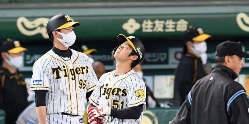 阪神 サヨナラ機に中野がバント失敗に走塁ミス 矢野監督「反省はある」「勉強やと思う」