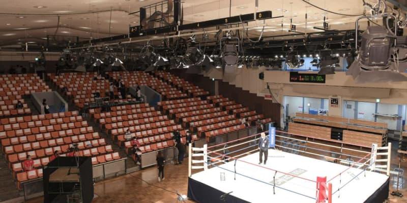 ボクシング3興行を延期、有観客で開催 3興行を中止に