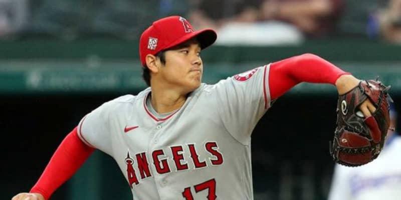 【MLB】大谷翔平、リアル二刀流で初回2者連続奪三振 最速159キロ、第1打席はニゴロ