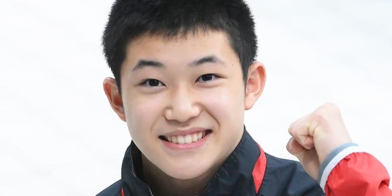 飛び込み 14歳玉井陸斗ら東京五輪代表選手11人を発表