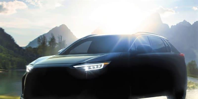 86&BRZと同様にスバルとトヨタが共同開発! スバルが2022年にSUVの電気自動車「ソルテラ」を発売