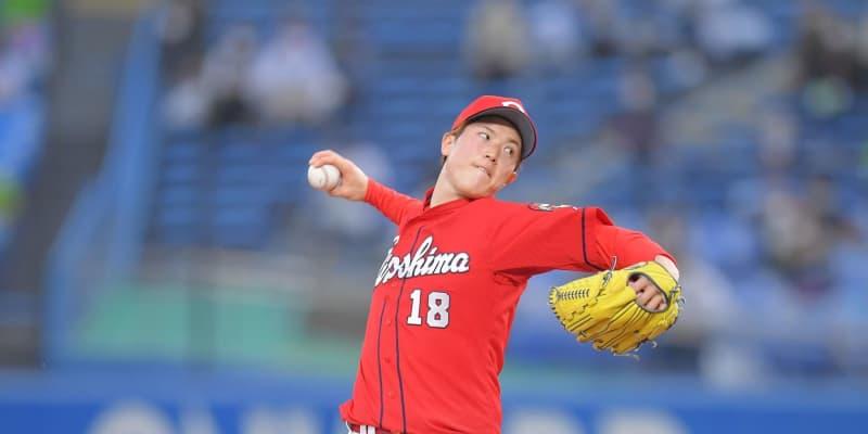 広島の先発・森下は7回無失点 今季最多127球の熱投