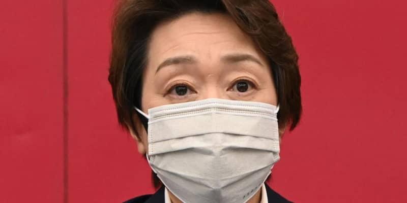 橋本聖子会長 池江への辞退要求、大坂、錦織らの開催不安に「私が責められるべき問題」