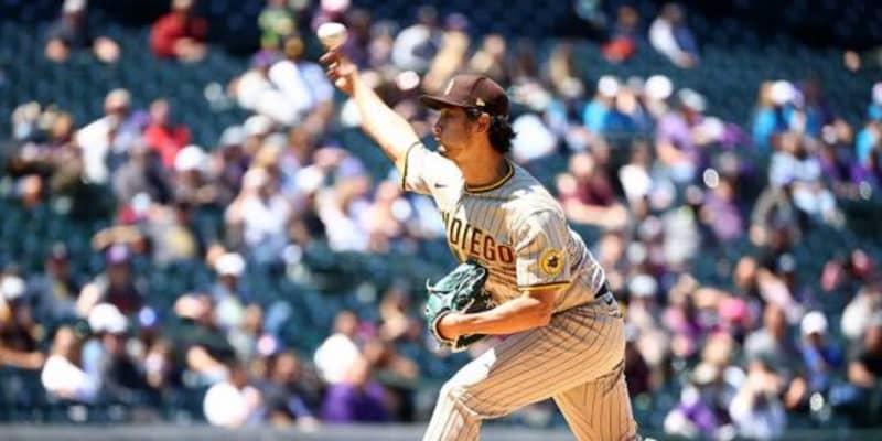 【MLB】ダルビッシュ、今季4勝目ならずもチーム3連勝 4回2安打1失点、相棒カラティニが満弾