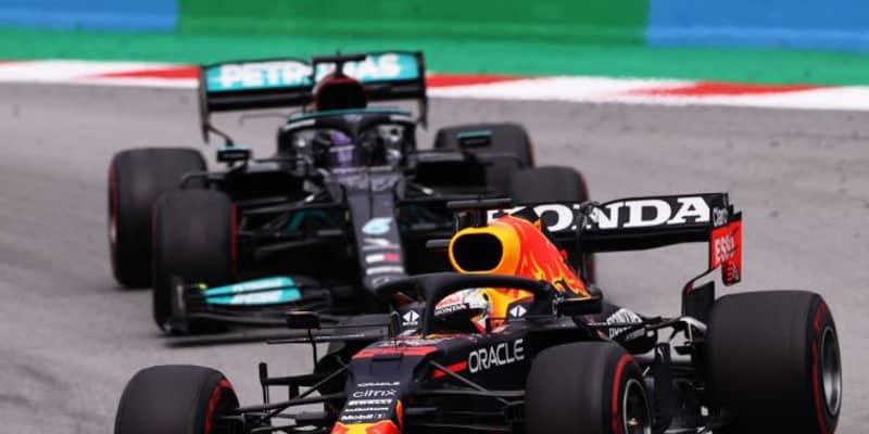 4戦中3勝のメルセデスF1「レッドブルのマシンの方がタイヤに少し厳しいかもしれない」と分析
