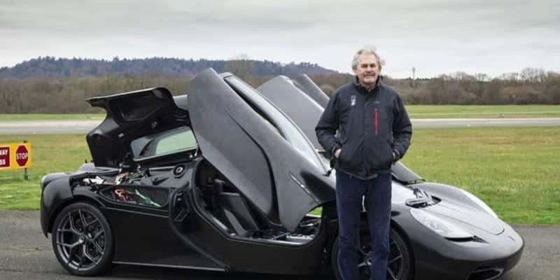 ゴードン・マレー、ハイブリッドスーパーカー『T.50』に続いて新型EV開発へ