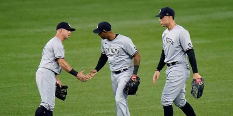 【MLB】ヤンキース、投手コーチら7人が新型コロナ陽性に 遊撃トーレスは検査待ちで欠場