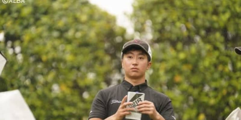 日大2年・杉浦悠太が首位タイ発進 アマ河本力3位、石川遼11位