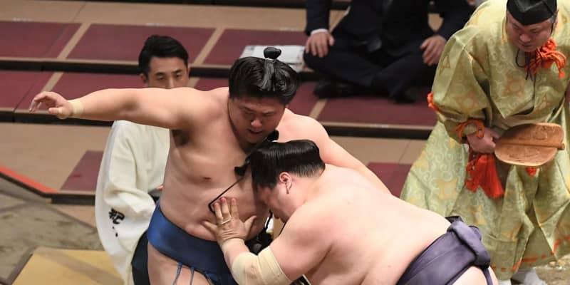 照ノ富士は無傷の5連勝で単独首位キープ 1差で貴景勝、正代らが追う