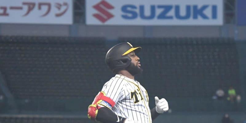 阪神ロハスがデビューから10打席連続無安打 球団新外国人ワースト5位タイに