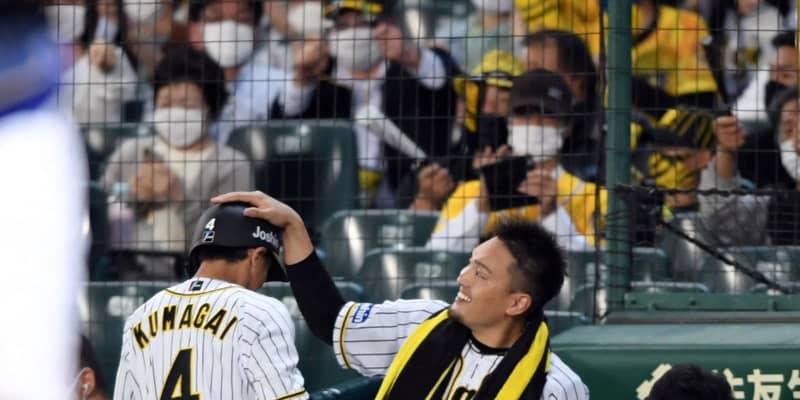 阪神先発の秋山は7回1失点の好投にも「先制点は反省です」4勝目の権利は得られず