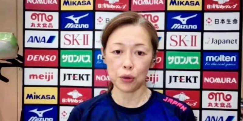 バレー女子・中田監督「もう少し現場に情報、数値的な目安を」五輪開催へ思い