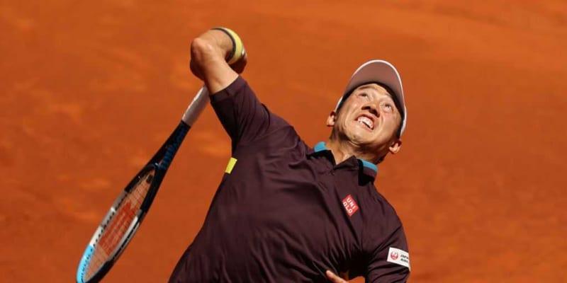 【速報】錦織が第1セットを先取。前週敗れた世界6位ズベレフとの3回戦[ATP1000 ローマ]