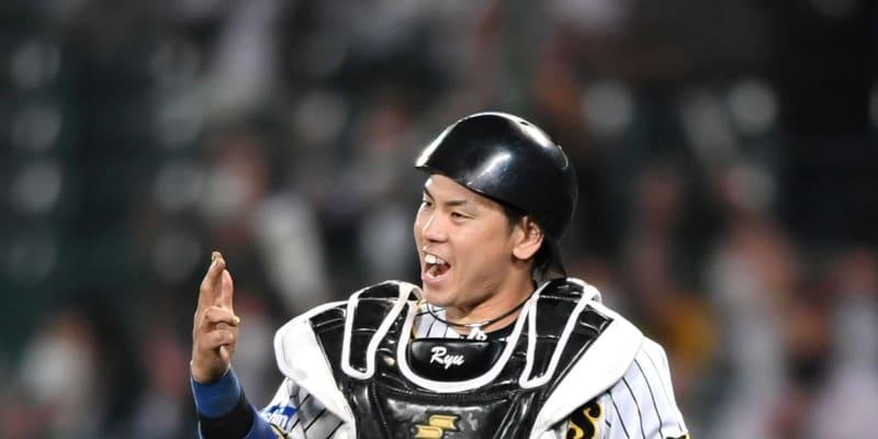阪神・梅野、国内FA権取得 行使は明言せず「今は目の前の一試合を一生懸命」