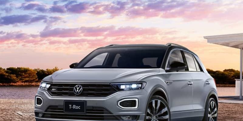 VW Tロック、ガソリンエンジンモデルを追加---2トーンカラーも設定可能