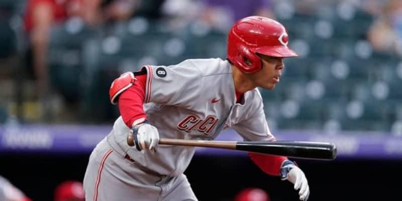 【MLB】秋山翔吾、今季11打席目で待望の初安打 課題の左腕から左前打、初得点も記録