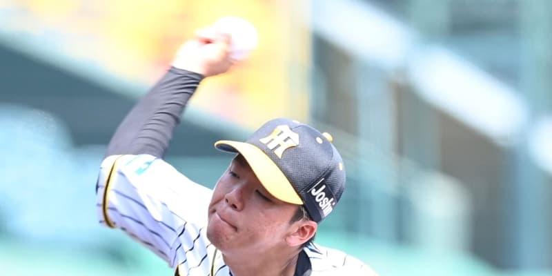 阪神2軍 ドラ5村上が6回4安打無失点の好投 甲子園のマウンドで躍動