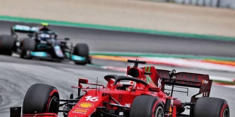 【F1第4戦無線レビュー(1)】「どうしてリカルドのラップタイムを言うの?」噛み合わなかったルクレールとエンジニア