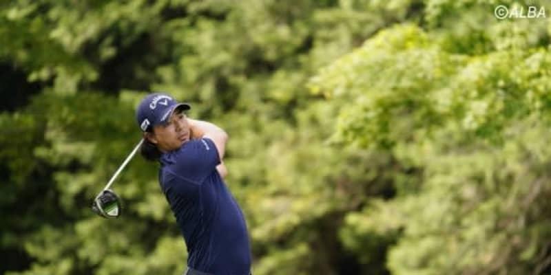 運を取り返した最終H、石川遼が230ヤードを8番で2オン 優勝争いに向けて「順調」