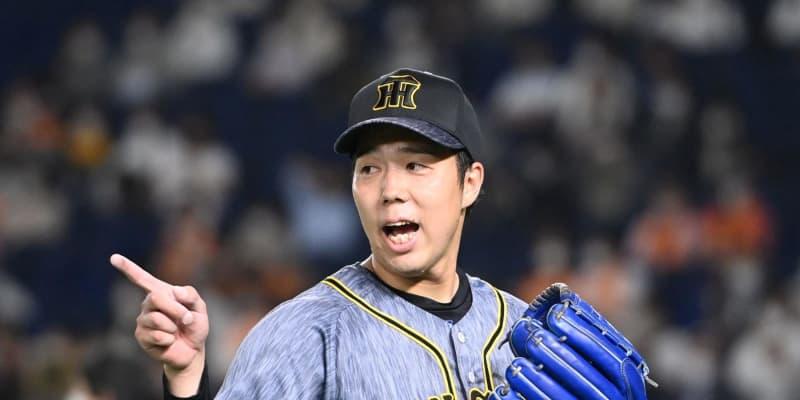 阪神・青柳が7回1失点の好投「野手の方々に助けてもらい」前回の悔しさ晴らす