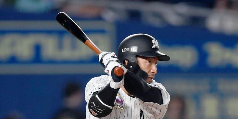 ロッテ・鳥谷 阪神時代17年以来のサヨナラ打ならず 九回2死二塁から右前打も