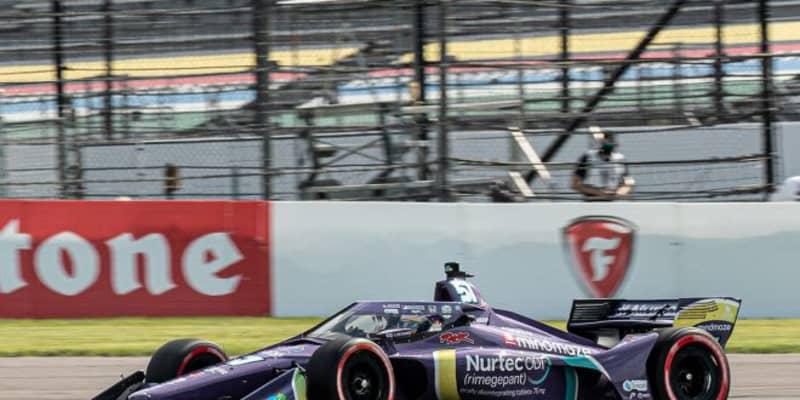 グロージャンが参戦3戦目で初ポール【順位結果】インディカー第5戦GMRグランプリ予選総合