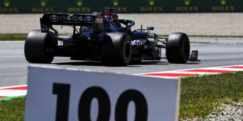 """【F1】ハミルトンの通算ポールポジション回数が""""3ケタ""""に到達…100勝にもあと2つ、なにもかも""""ケタ違い""""に!"""