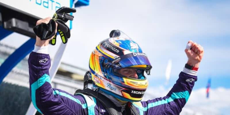 インディカー初ポール獲得のロマン・グロージャン「アメージングだ」