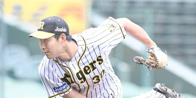 阪神ドラ3・佐藤蓮が甲子園初登板 2回3安打1失点 最速151キロ3奪三振