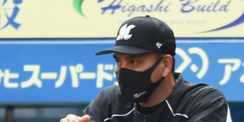 ロッテ・井口監督がリクエスト成功 前日は2度泣いたリプレー検証 辻監督にやり返す