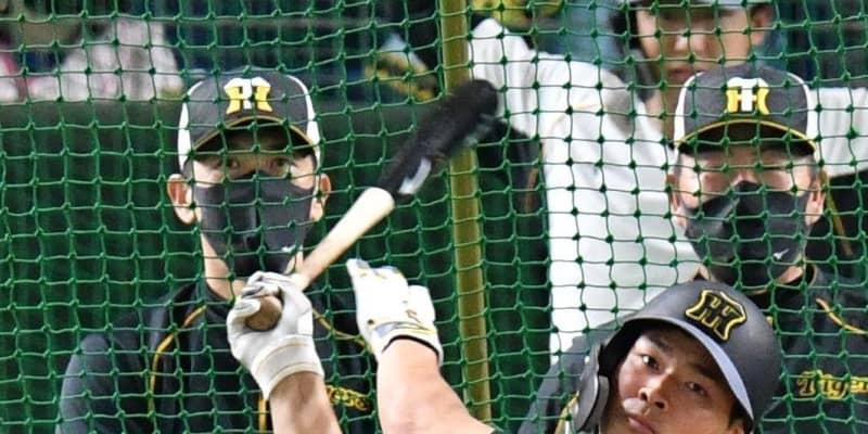 巨人-阪神 節目の2000試合スタメン発表 阪神4番佐藤輝 6番はロハス
