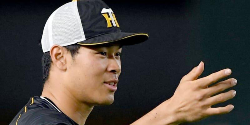 阪神・佐藤輝 巨人戦前の練習で5本の柵越え 大谷本塁打に続けるか