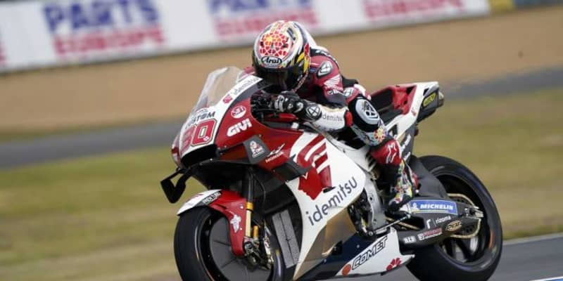 中上貴晶「明日、もし雨が降ったらウエットでのフィーリングを改善したい」/MotoGP第5戦フランスGP