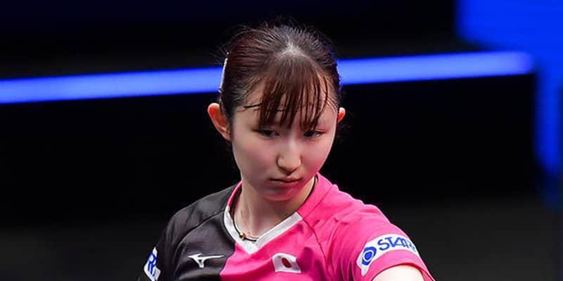 【卓球】アジア選手権日本代表選考会 女子出場選手発表 早田、木原ら24名