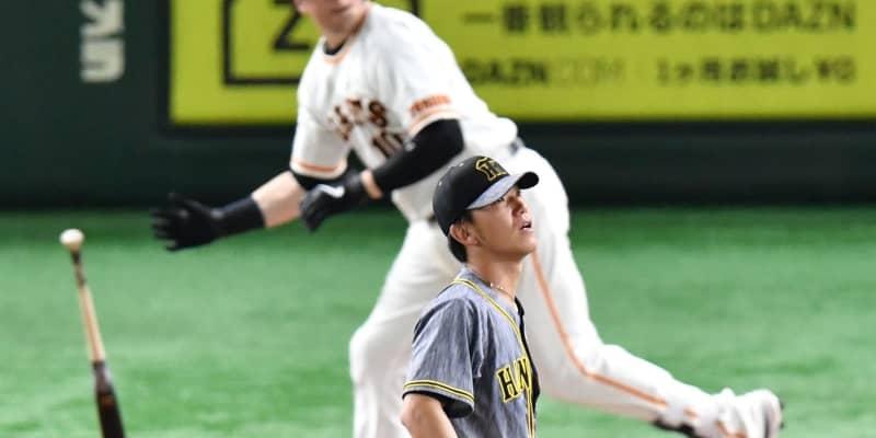 阪神ドラ2伊藤将が痛恨の逆転3ラン被弾 6回今季ワースト5失点で降板
