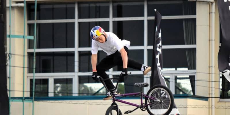 自転車・BMX 中村輪夢が予選1位通過「そこそこの走りが出来た」