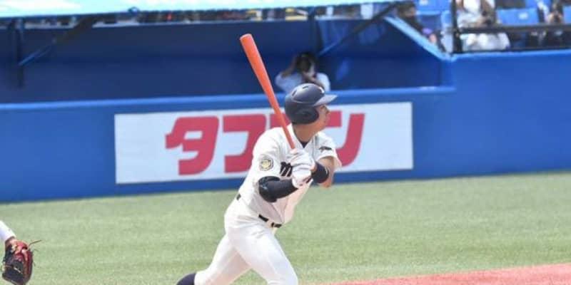 【大学野球】打率1割台でも「4番にいて当然」 明大2年生の主砲に監督の信頼が揺るがないワケ