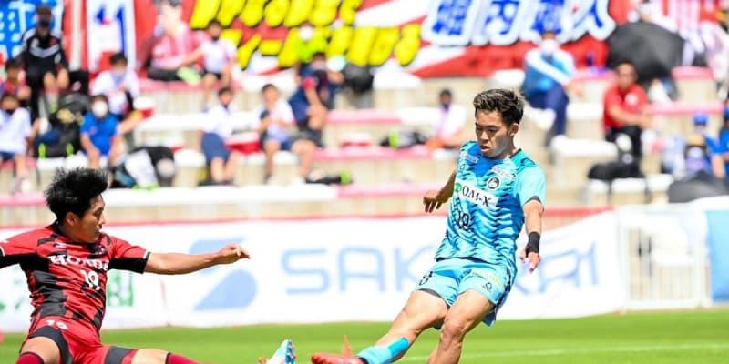 FC大阪 首位ホンダFCに2発完勝 アウェー都田で初勝利