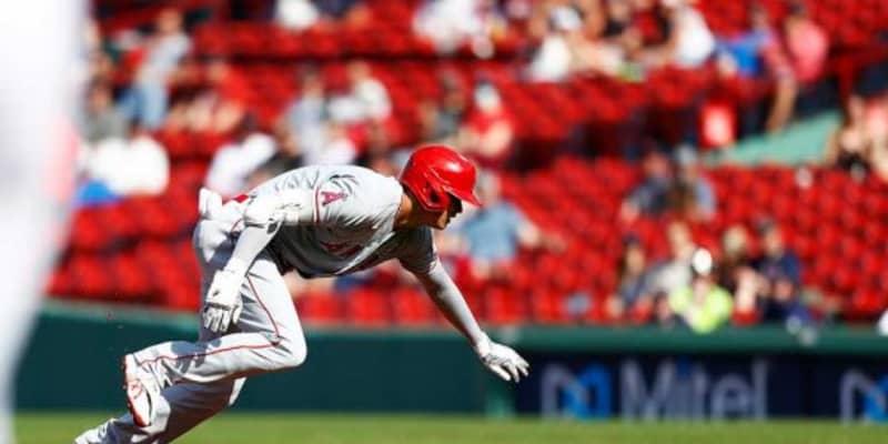 【MLB】大谷翔平、足が速すぎた? 初回に左翼線安打も痛い走塁ミス、挟殺プレーで憤死